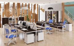 Офисная мебель для персонала Imago-S Комплект №1