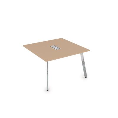 10СПК.124 Стол системы Бенч, переговорный - конечный (1600*1200*750)