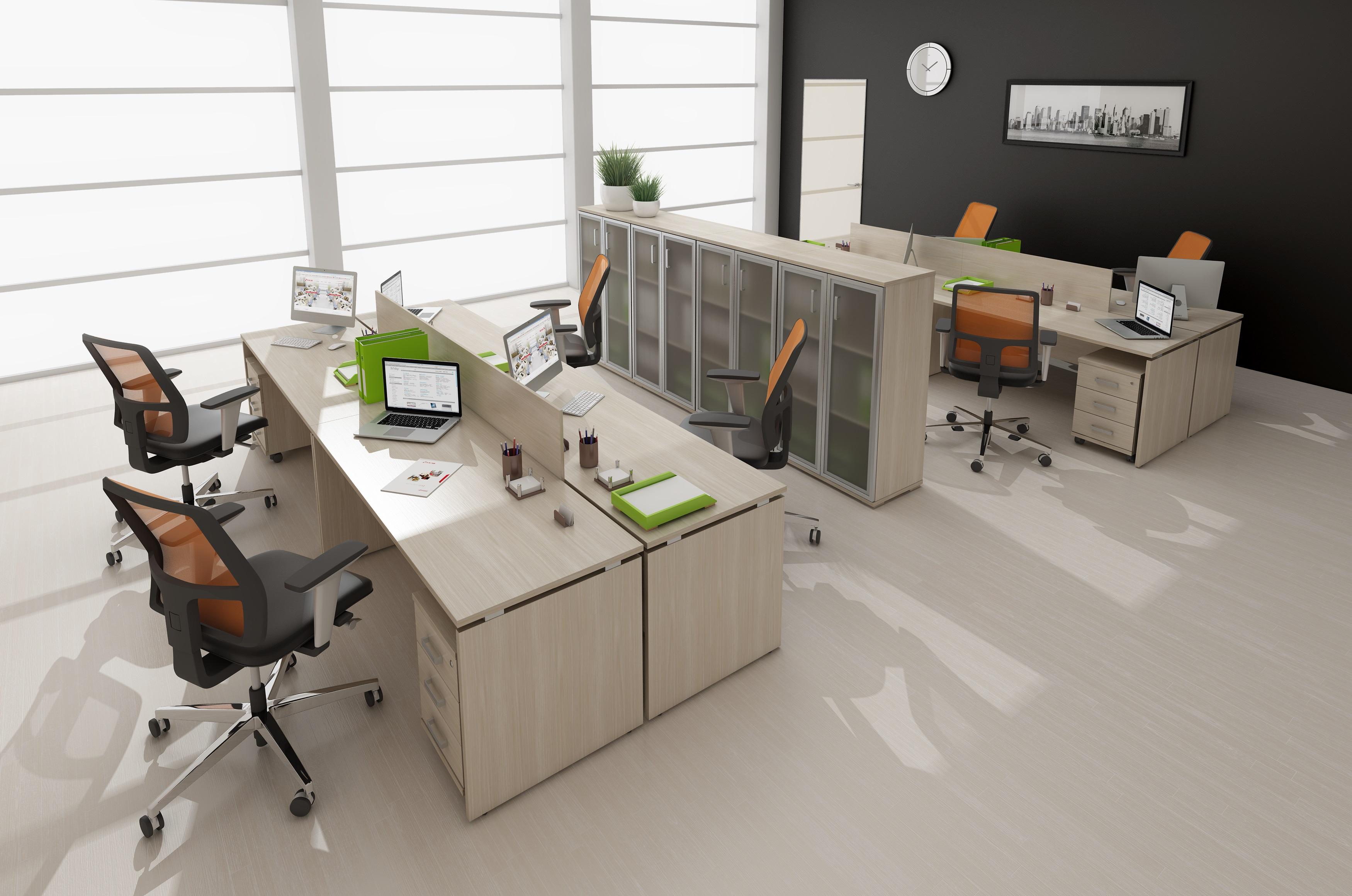 Офисная мебель для персонала Avance Комплект №8
