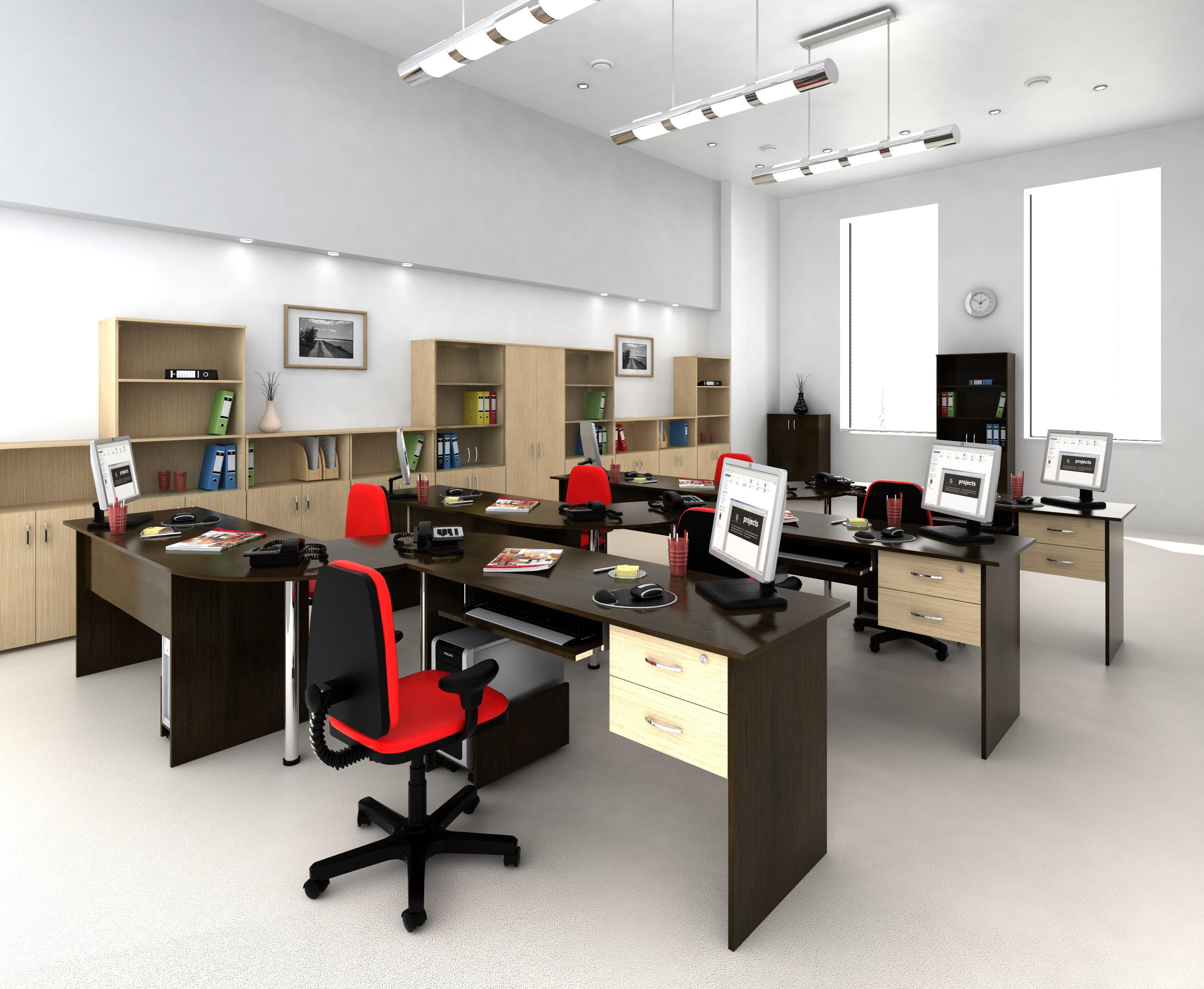 Офисная мебель для персонала Эконом Комплект №2