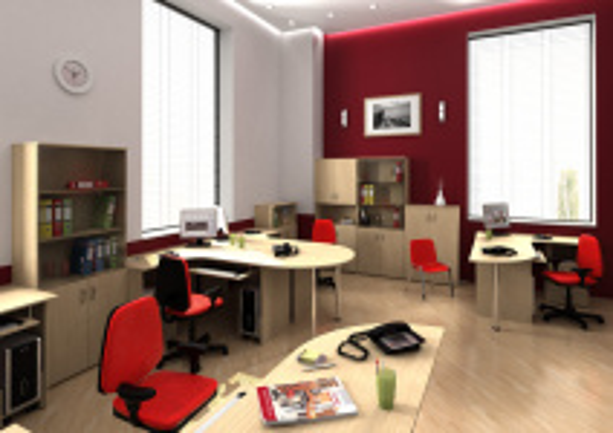 Офисная мебель для персонала Эконом Комплект №4
