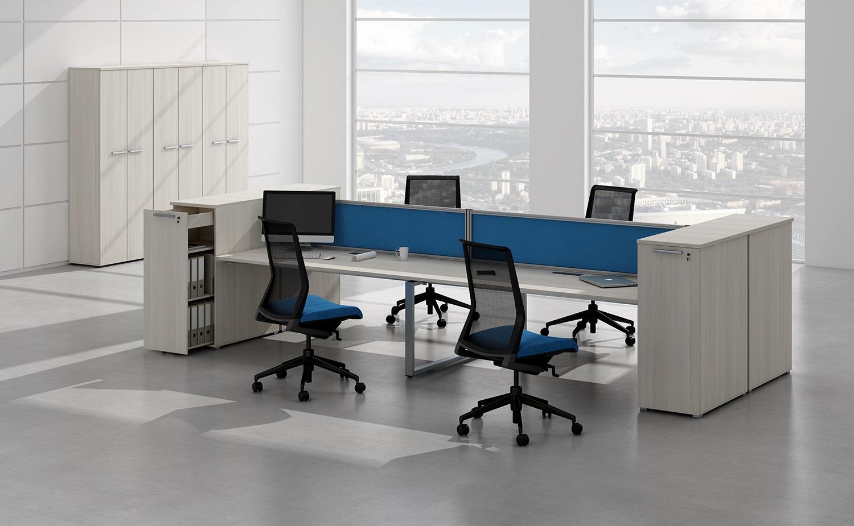 Офисная мебель для персонала Gloss Комплект №6