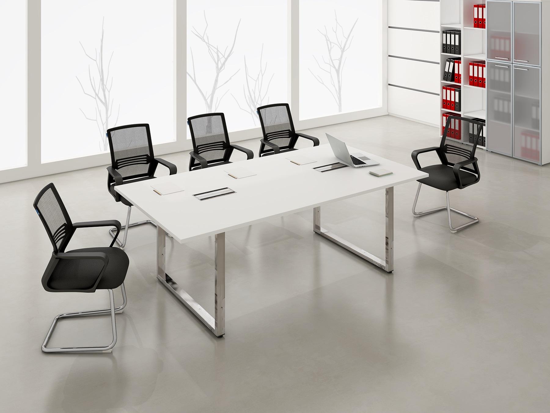 Столы на металлокаркасе Gloss Line