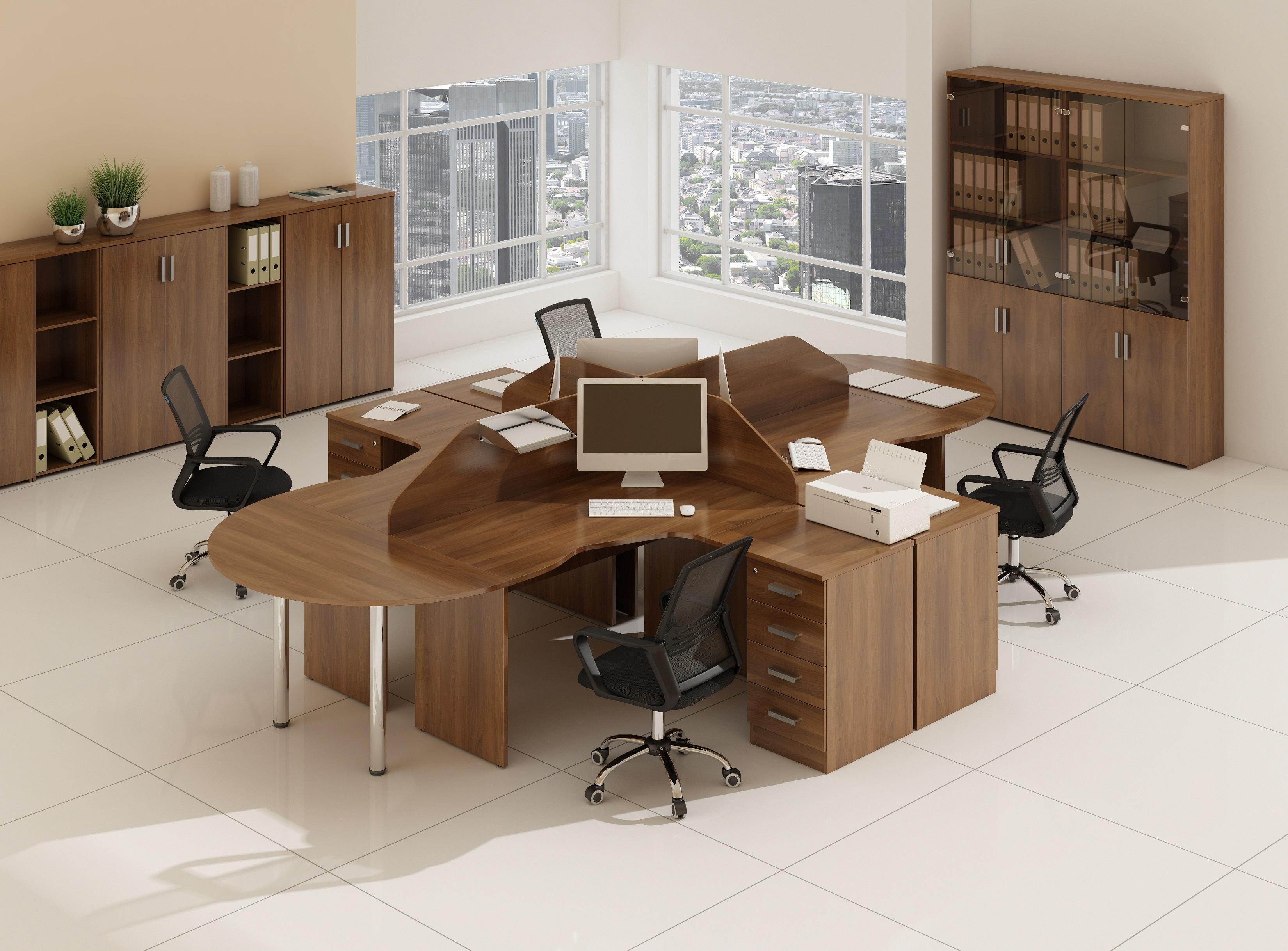 Офисная мебель для персонала Стиль Комплект №9