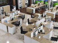 Офисная мебель для персонала Alba Комплект №1