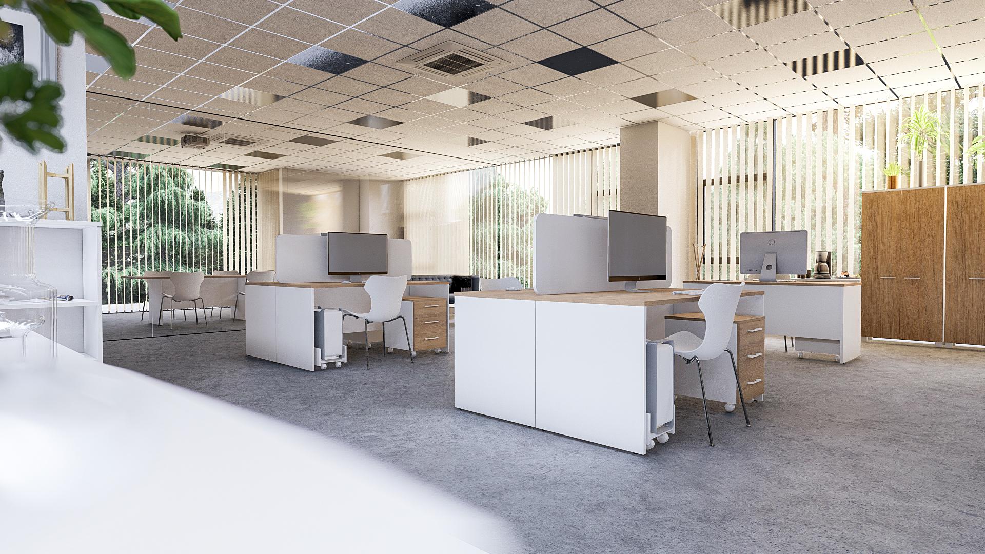 Офисная мебель для персонала Alba Комплект №4