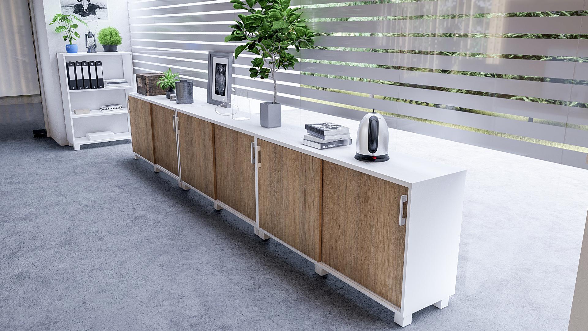 Офисная мебель для персонала Alba Комплект №9