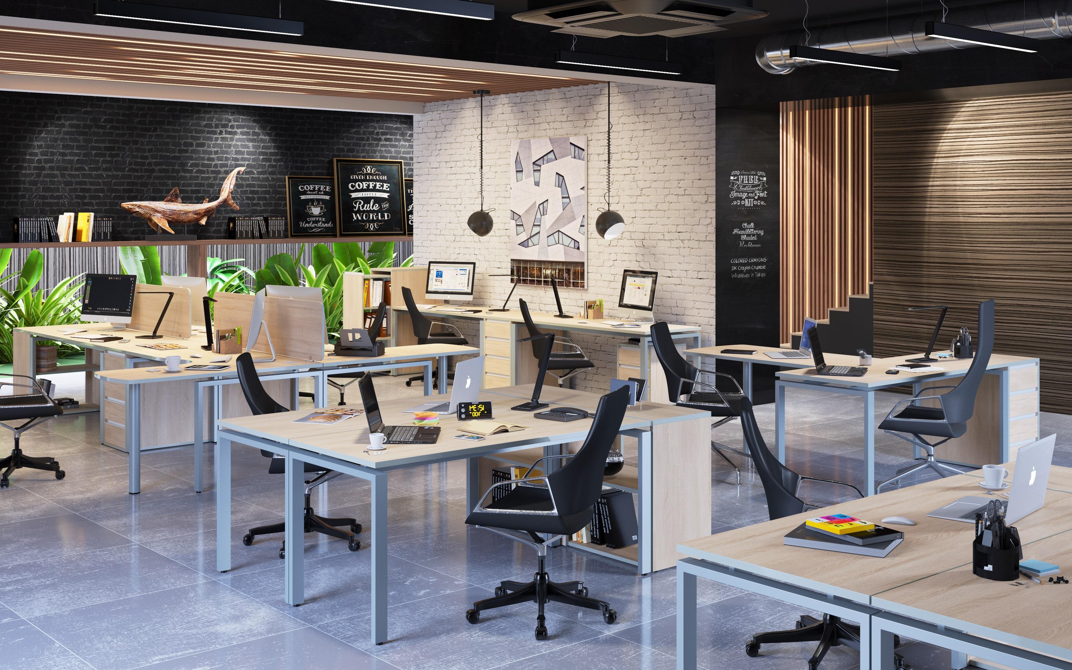 Офисная мебель для персонала Vita Комплект №3
