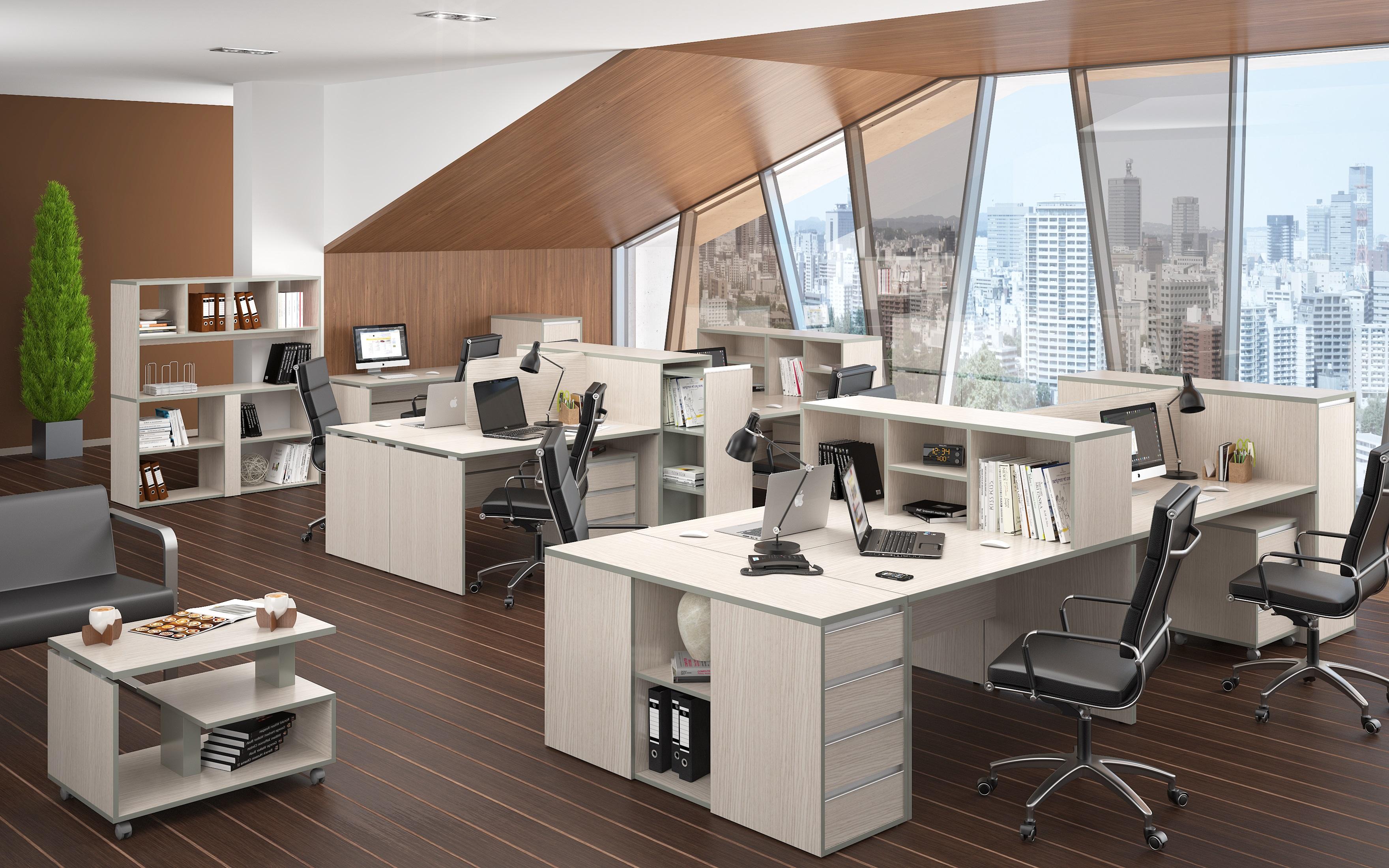Офисная мебель для персонала Vita Комплект №4