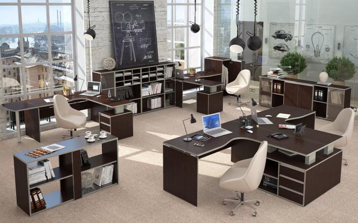 Офисная мебель для персонала Vita Комплект №6