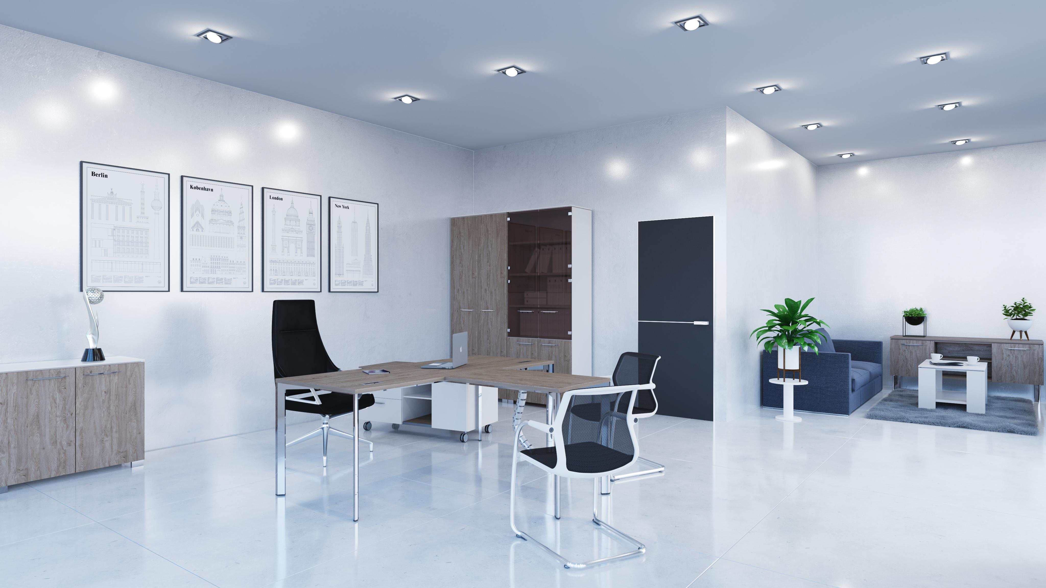 Офисная мебель для персонала Grandeza Комплект №3
