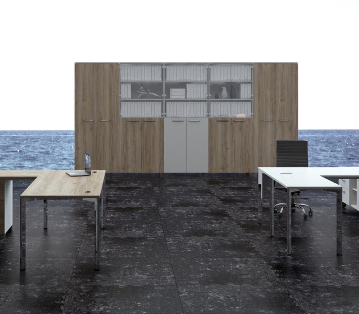 Офисная мебель для персонала Grandeza Комплект №5