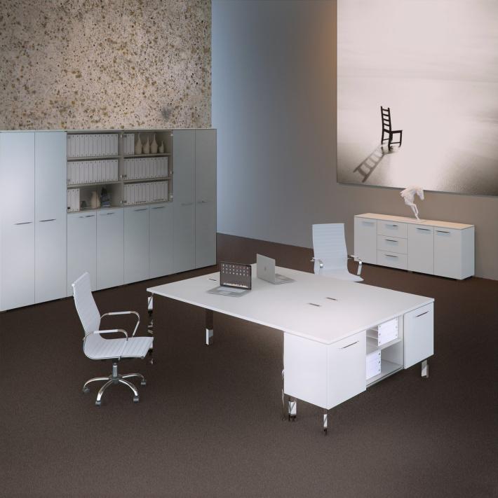 Офисная мебель для персонала Grandeza Комплект №6