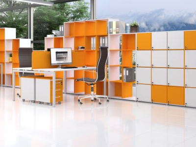 Мебель для персонала Sentida Color