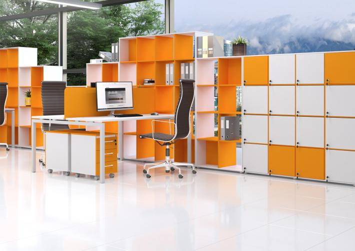 Офисная мебель для персонала Sentida Color Комплект №1