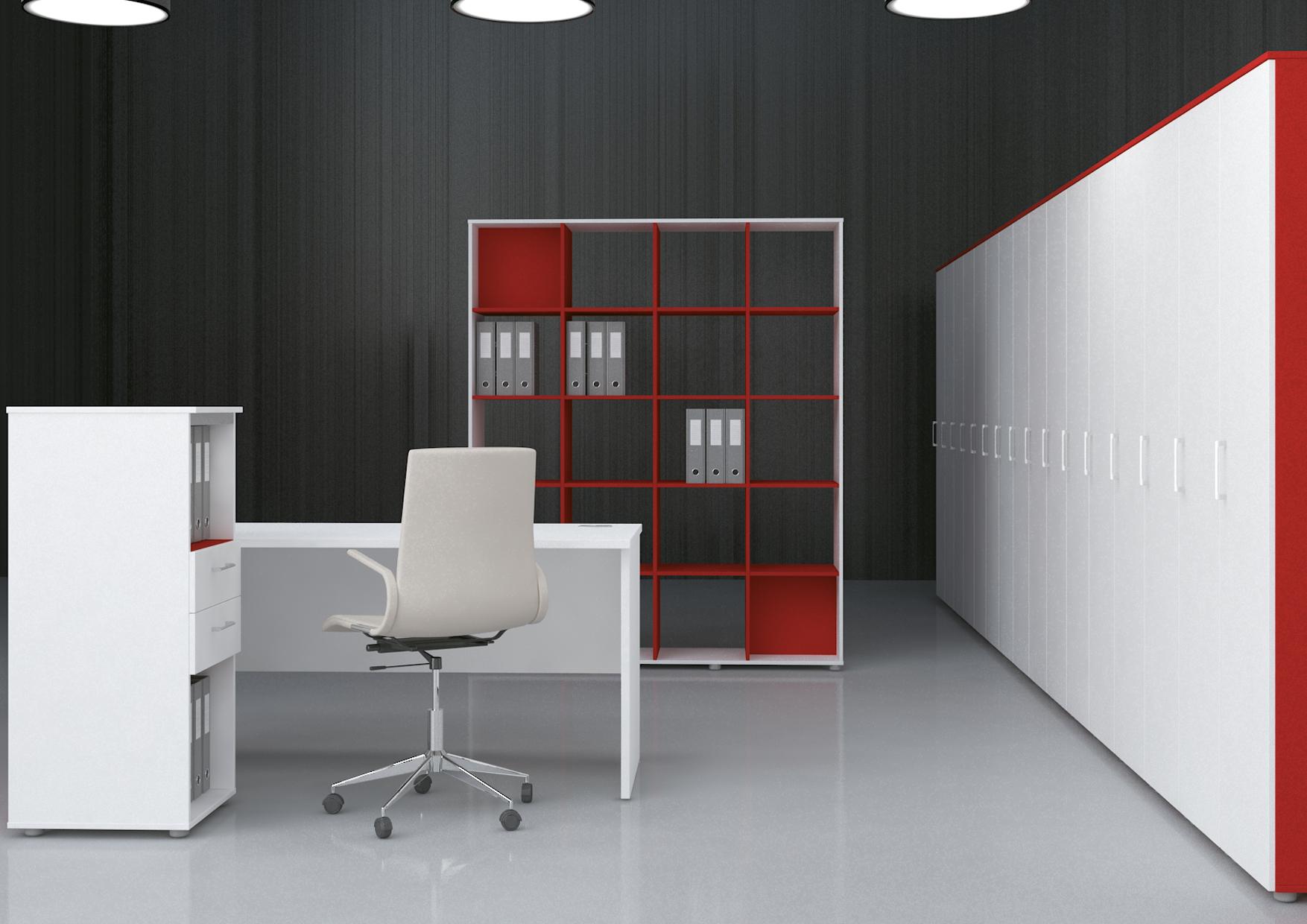 Офисная мебель для персонала Sentida Color Комплект №10