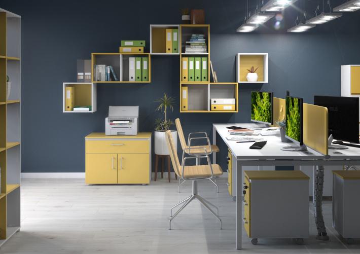 Офисная мебель для персонала Sentida Color Комплект №2