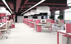 Офисная мебель для персонала Sentida Color Комплект №5
