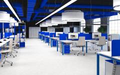 Офисная мебель для персонала Sentida Color Комплект №6