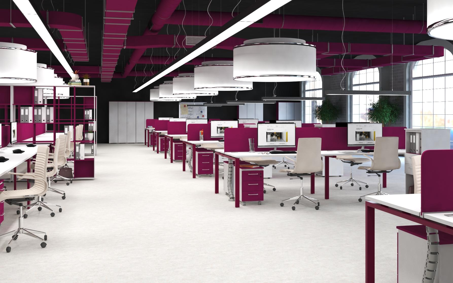 Офисная мебель для персонала Sentida Color Комплект №7