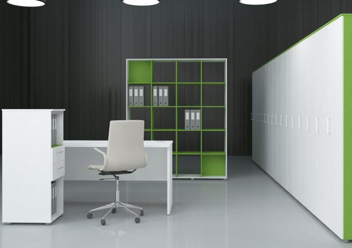Офисная мебель для персонала Sentida Color Комплект №9