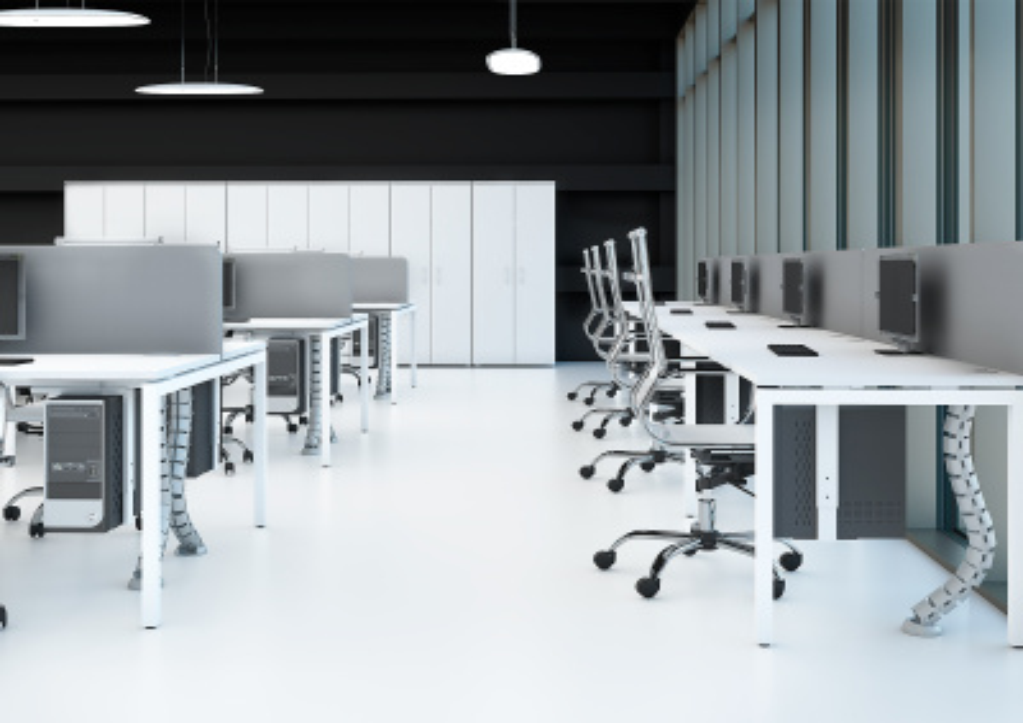 Столы на металлокаркасе Sentida