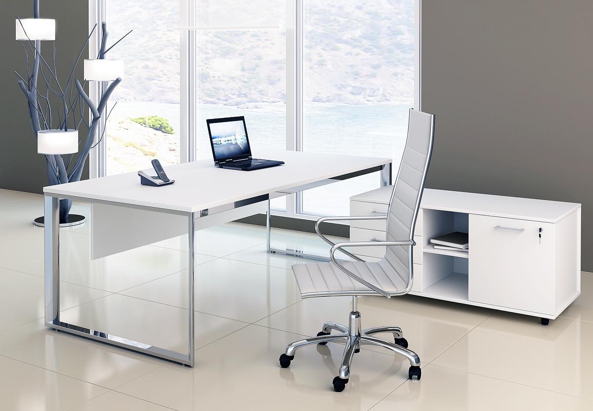 Столы на металлокаркасе Carre