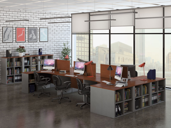Офисная мебель для персонала Point Комплект №12