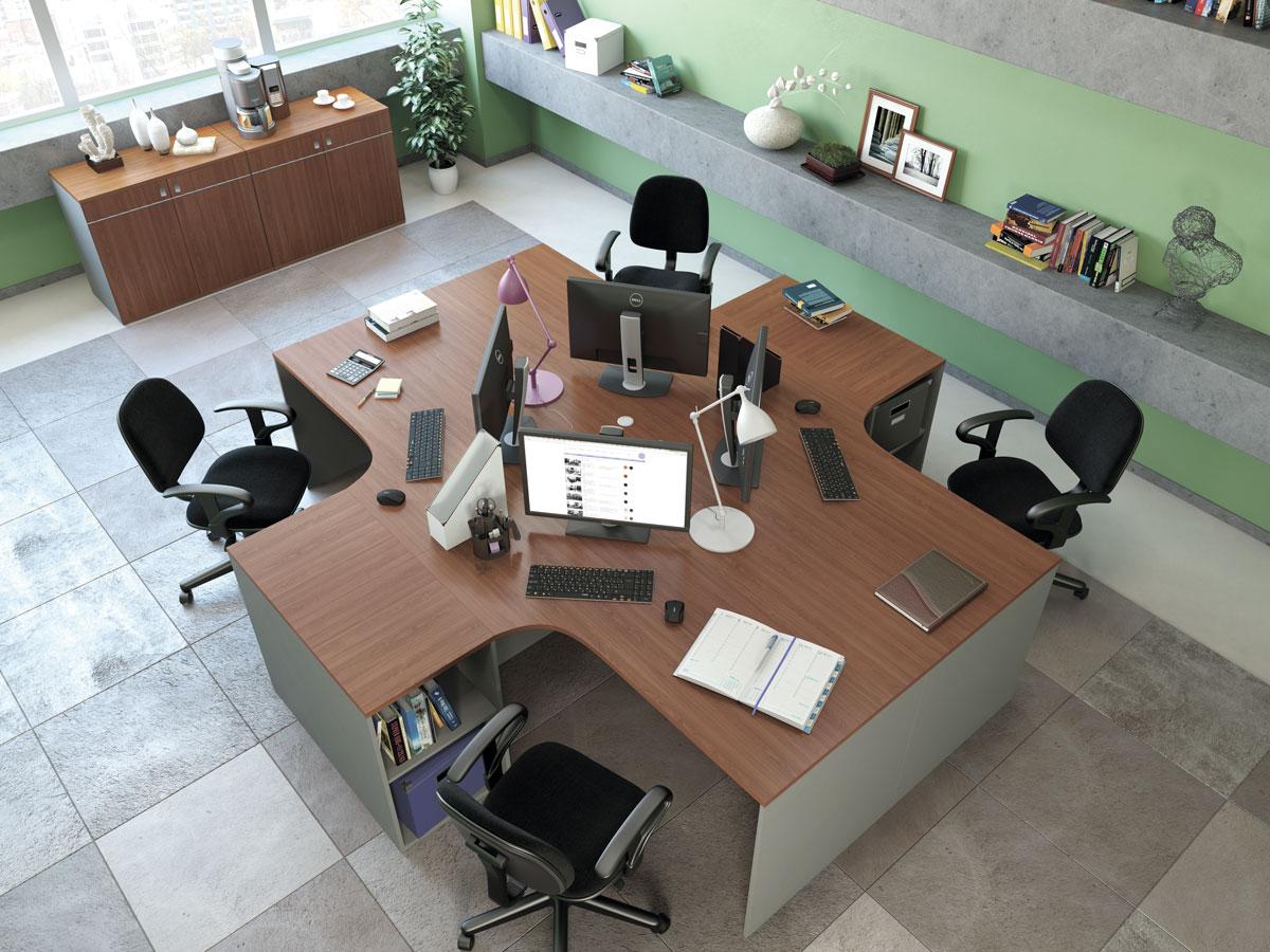 Офисная мебель для персонала Point Комплект №7