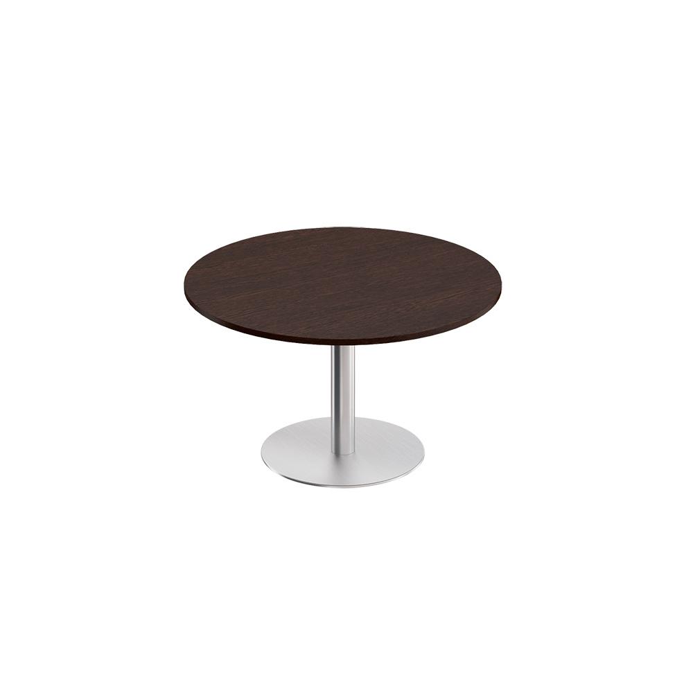 Стол для переговоров круглый на опоре-колонне МЕ 141