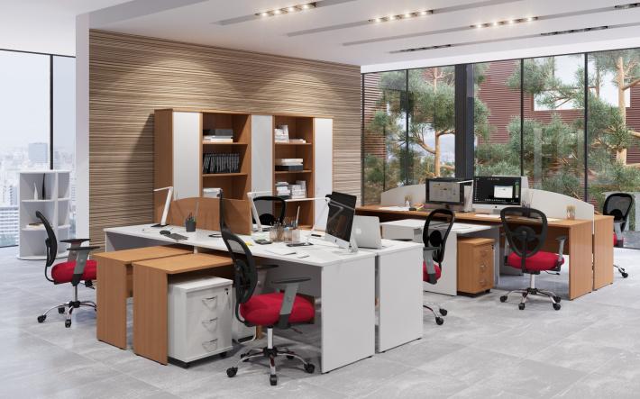 Офисная мебель для персонала Имаго Комплект №11