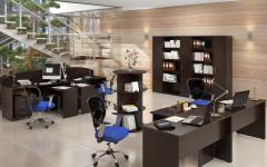 Офисная мебель для персонала Имаго Комплект №4