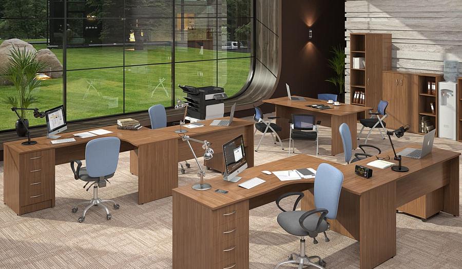 Офисная мебель для персонала Имаго Комплект №5