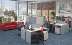Офисная мебель для персонала Имаго Комплект №7