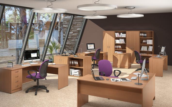 Офисная мебель для персонала Имаго Комплект №9