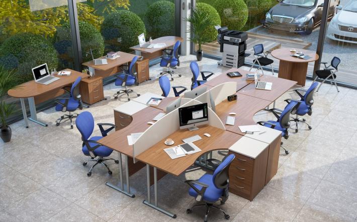 Офисная мебель для персонала Imago-M Комплект №2
