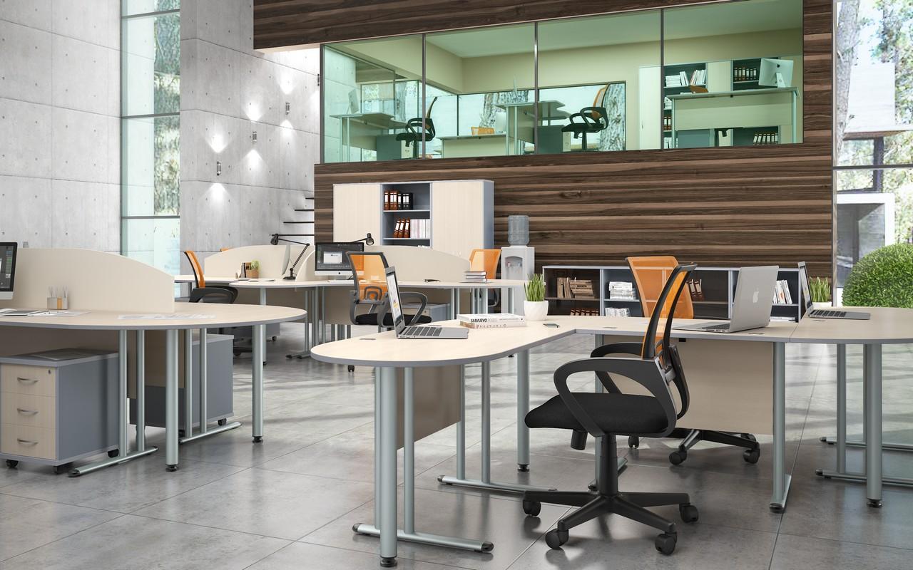 Офисная мебель для персонала Imago-M Комплект №4