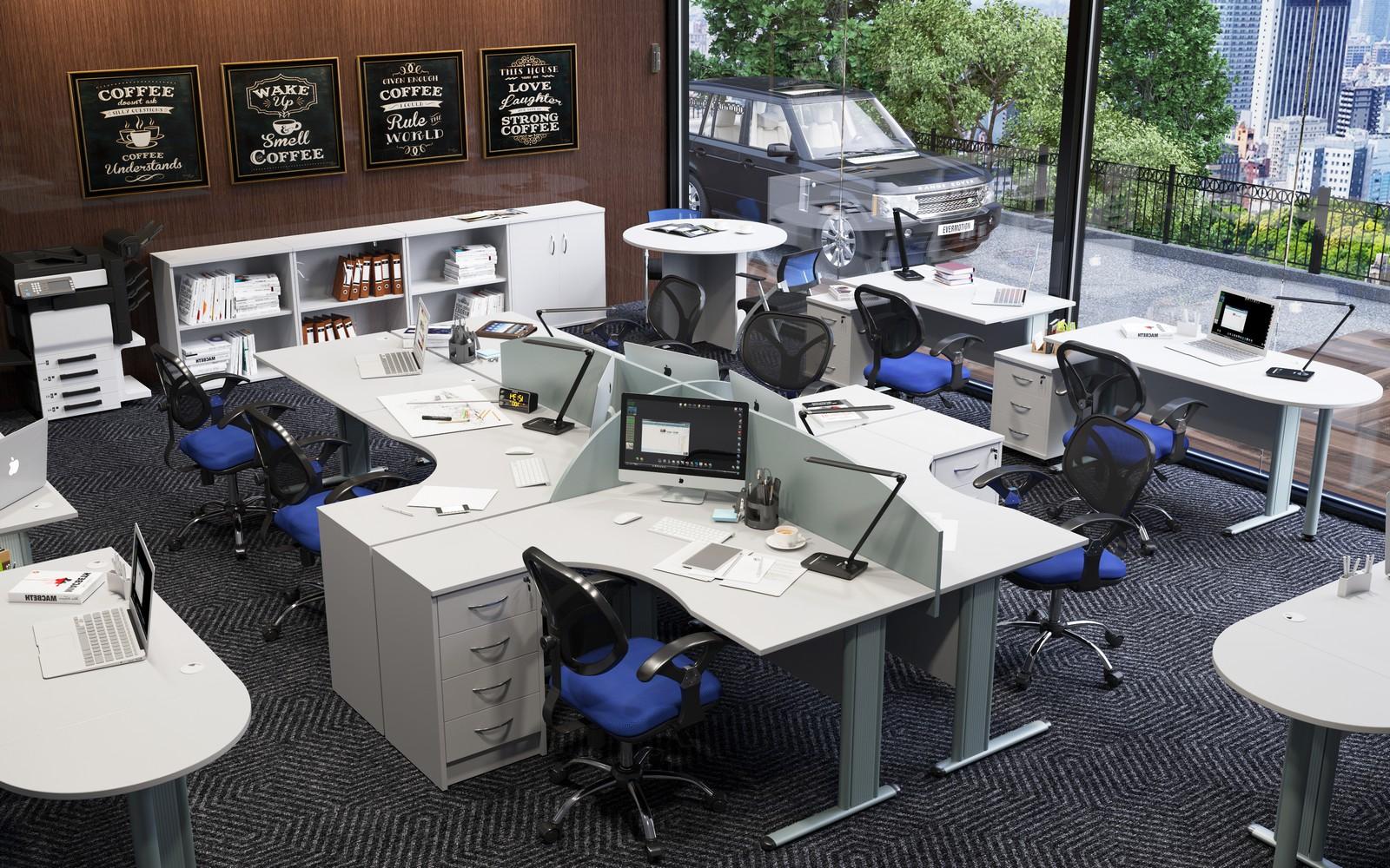 Офисная мебель для персонала Imago-M Комплект №6