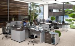 Офисная мебель для персонала Offix-NEW Комплект №2