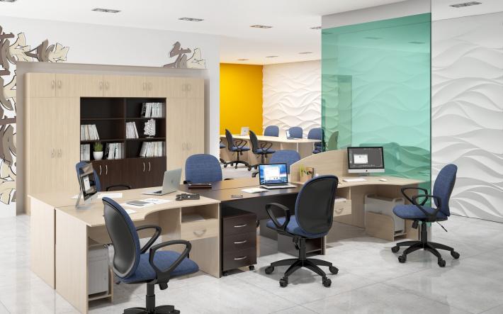 Офисная мебель для персонала Simple Комплект №1