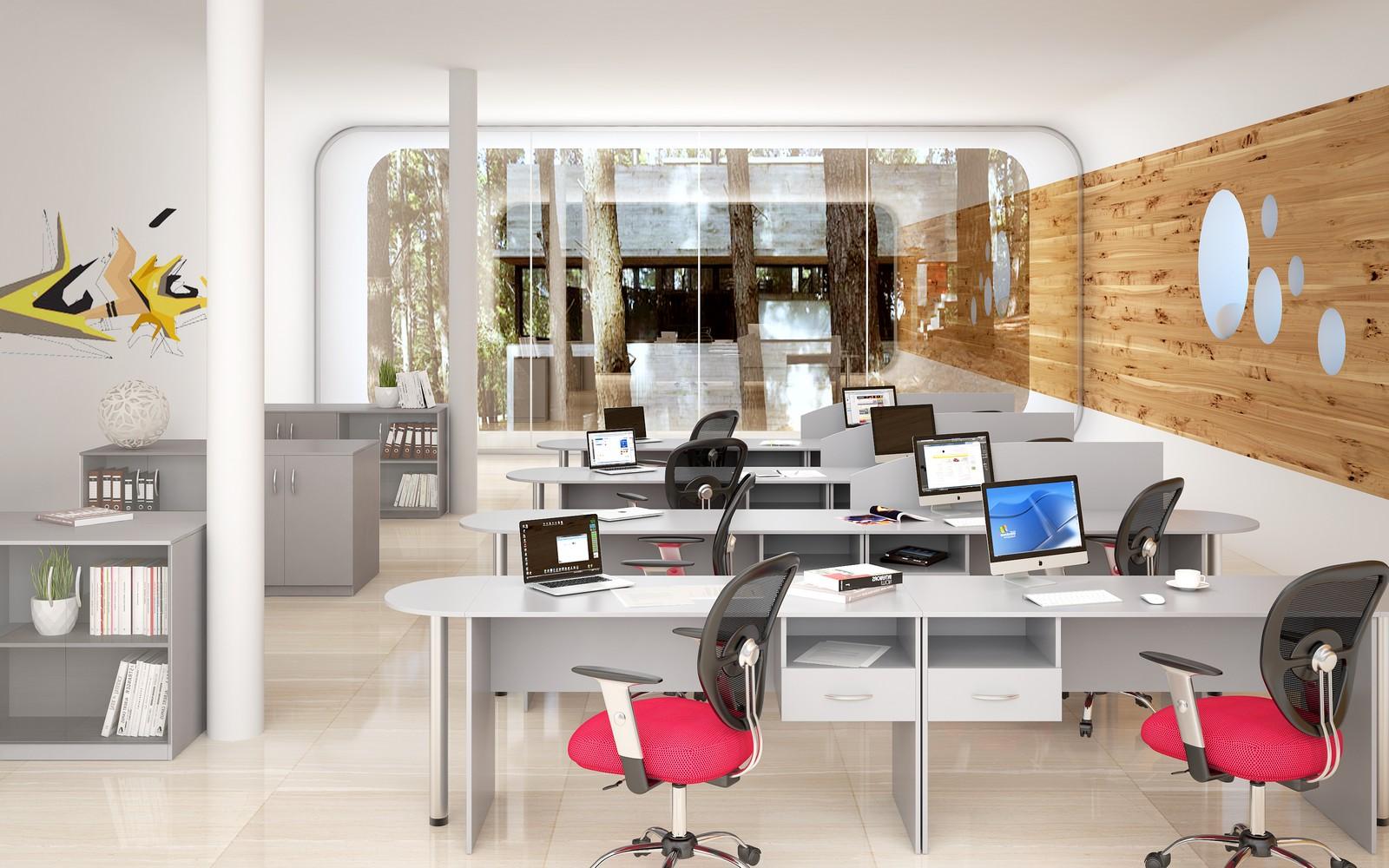 Офисная мебель для персонала Simple Комплект №2