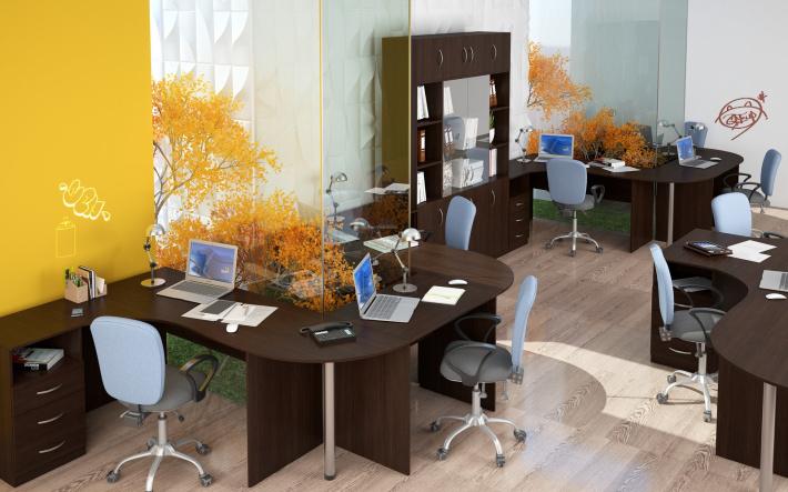 Офисная мебель для персонала Simple Комплект №3