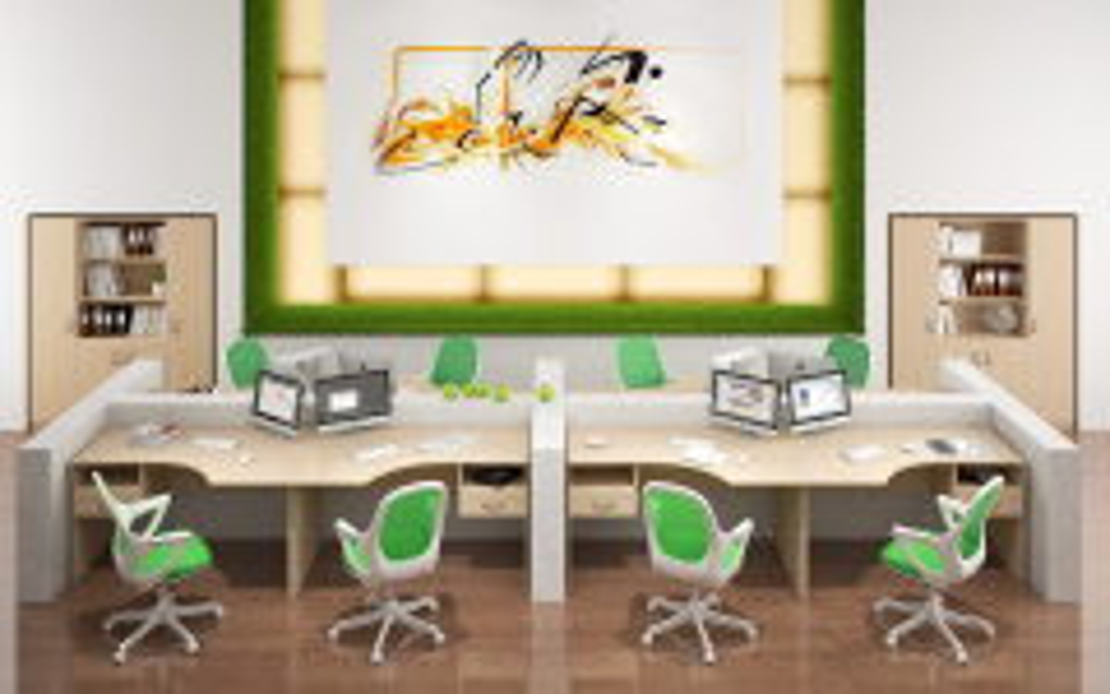Офисная мебель для персонала Simple Комплект №4