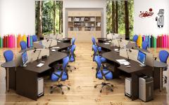 Офисная мебель для персонала Simple Комплект №5