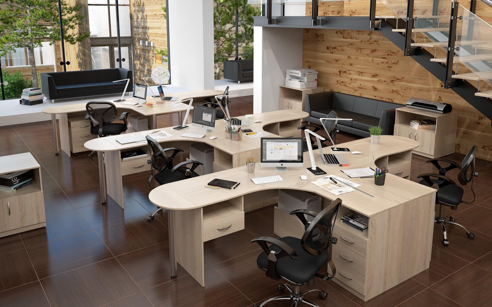 Офисная мебель для персонала Simple Комплект №6