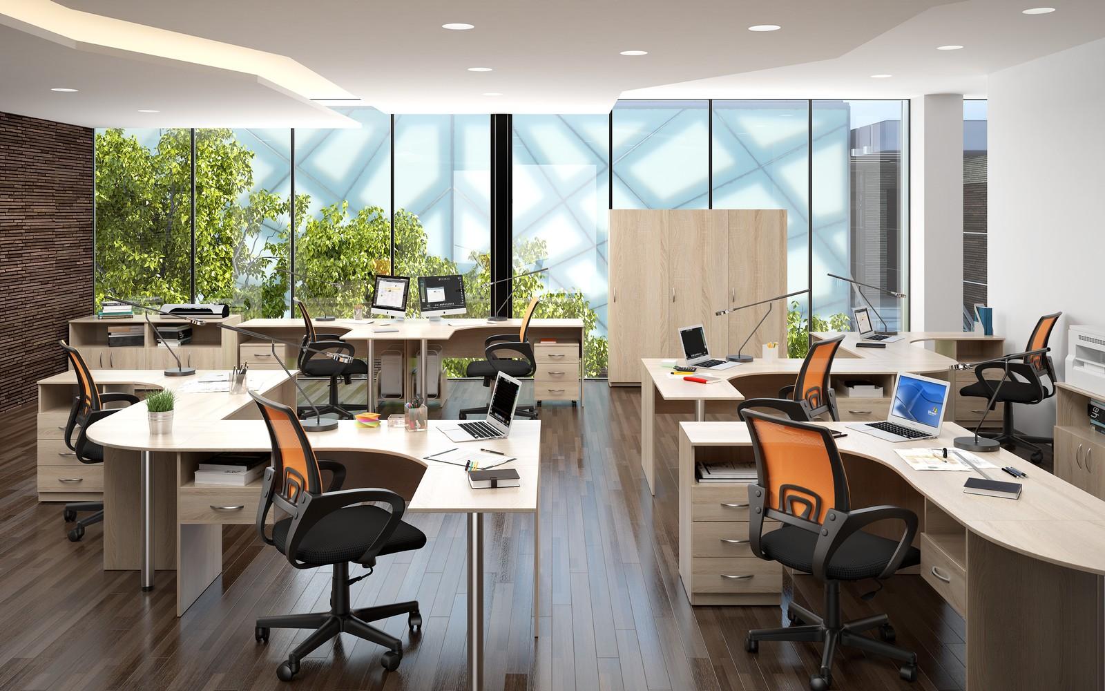 Офисная мебель для персонала Simple Комплект №7