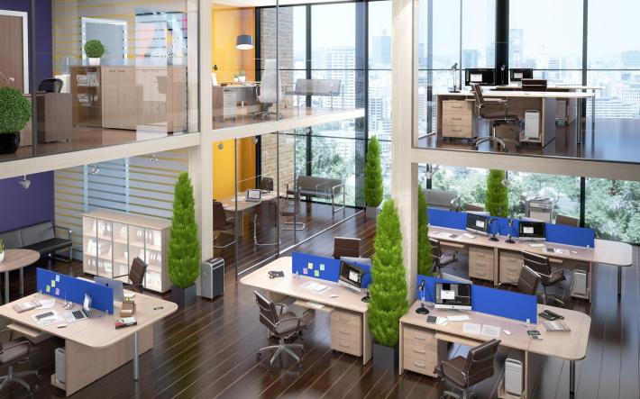 Офисная мебель для персонала Xten Комплект №4